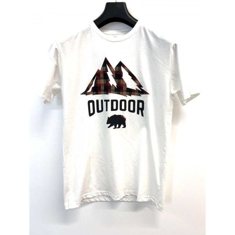 T-shirt con applicazione...