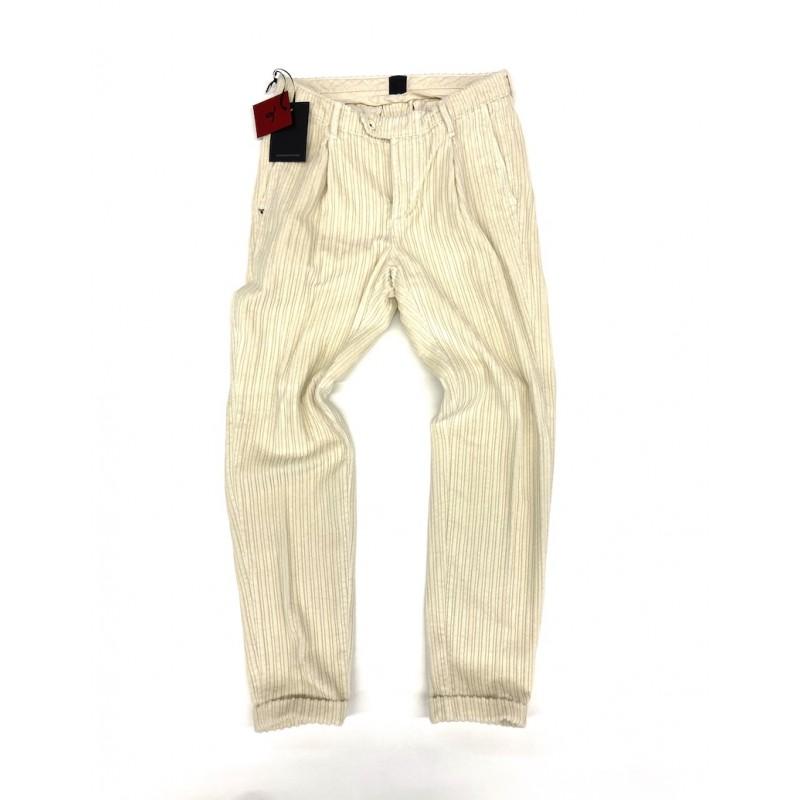 Pantalone in velluto Zero...